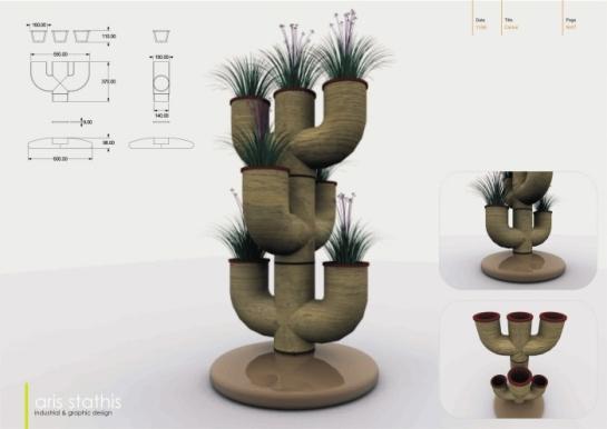 Cactus by Aris Stathis